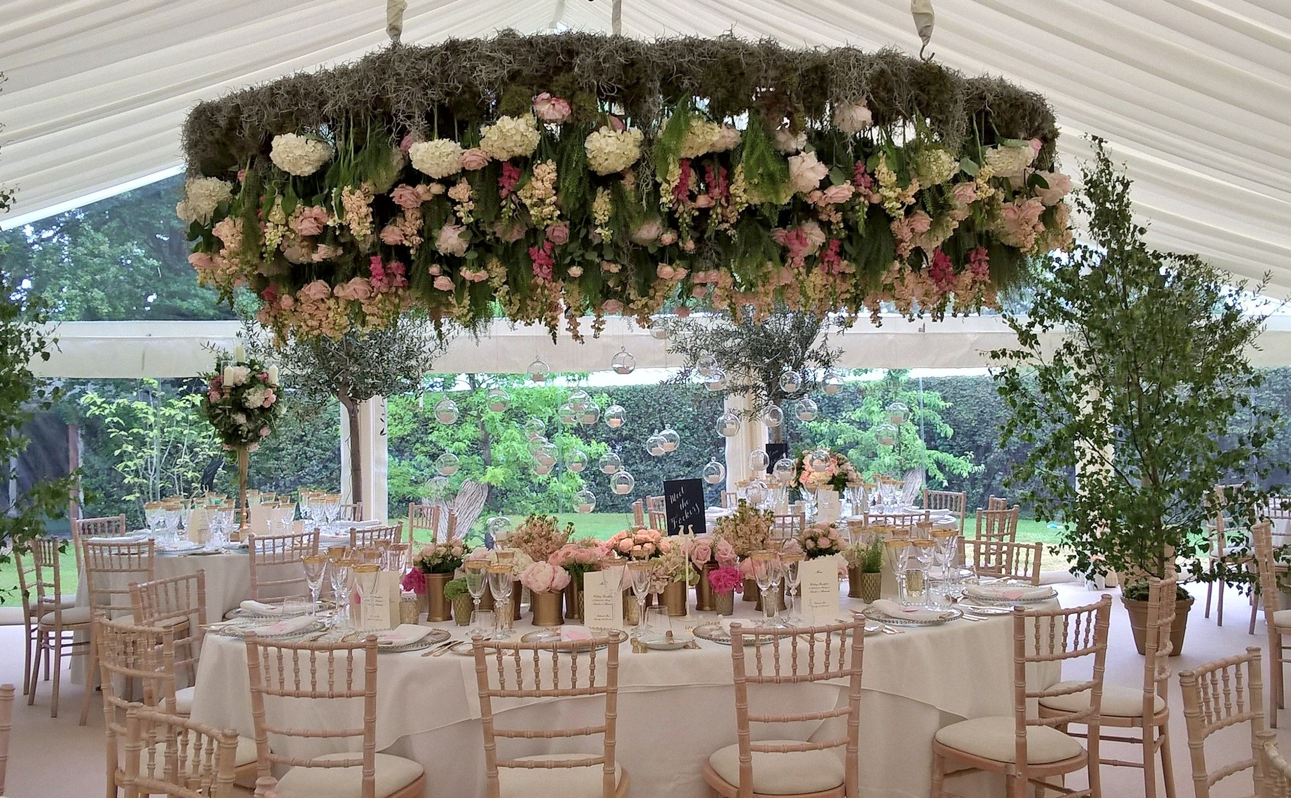 Suspended florals for weddings suspended floral arrangements - Suspended Floral Decor