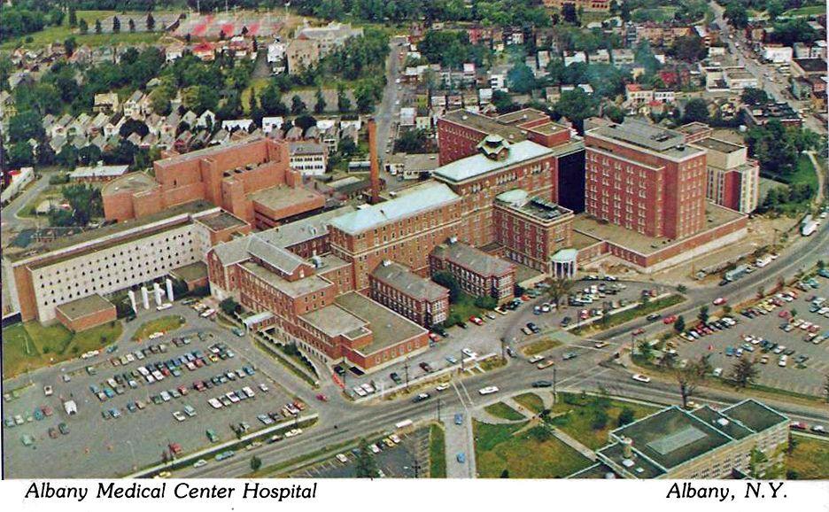 Albany Medical Center c 1975 Albany NY Upstate new york