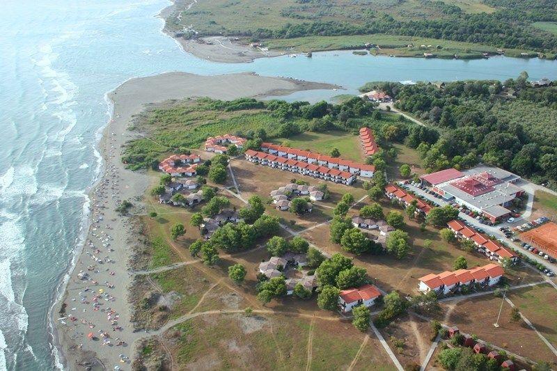 Ada Bojana Beach / Ulcinj Municipality / Montenegro