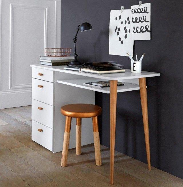 des petits bureaux pour un coin studieux bureau blog deco et deco design. Black Bedroom Furniture Sets. Home Design Ideas
