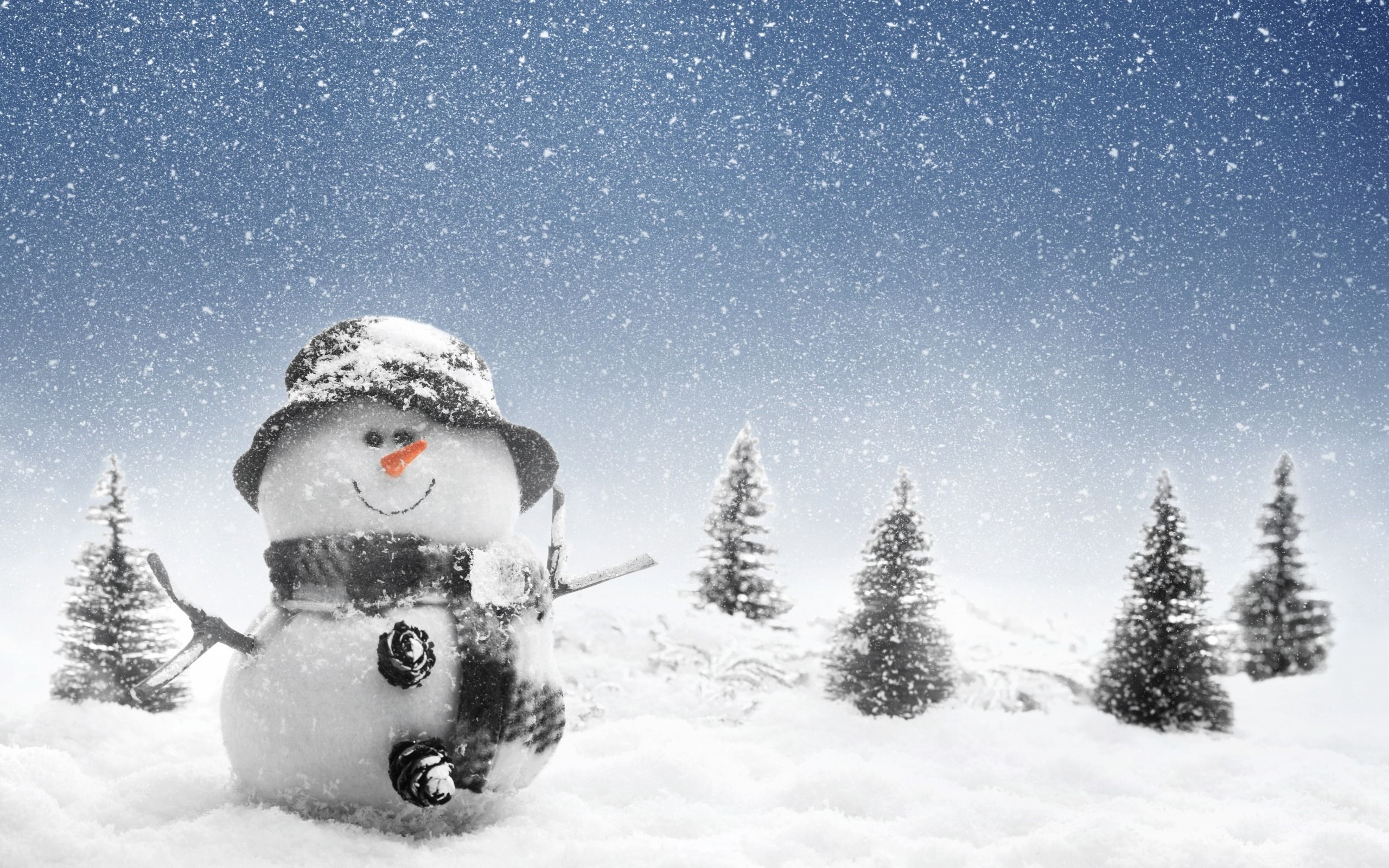 Holiday - Christmas - Merry - Jolly - Santa - Holiday Wallpaper ...