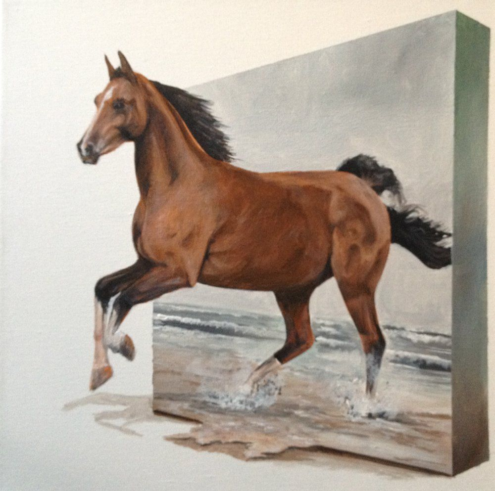 1 25 Horse Canvas Painting Horse Oil Painting Horse Wall Art