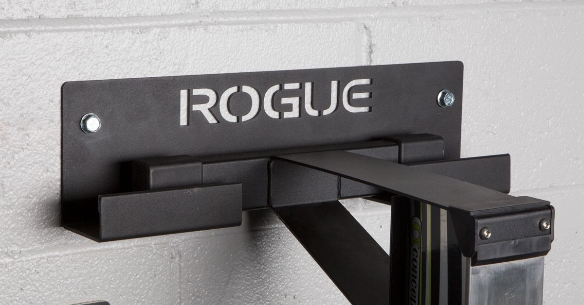 The Rogue Rower Hanger Is A New Storage Option That Will Help Gym Owners And Garage Gym Owners Alike Maintain A Machine Storage Storage Options Gym Wall Decor