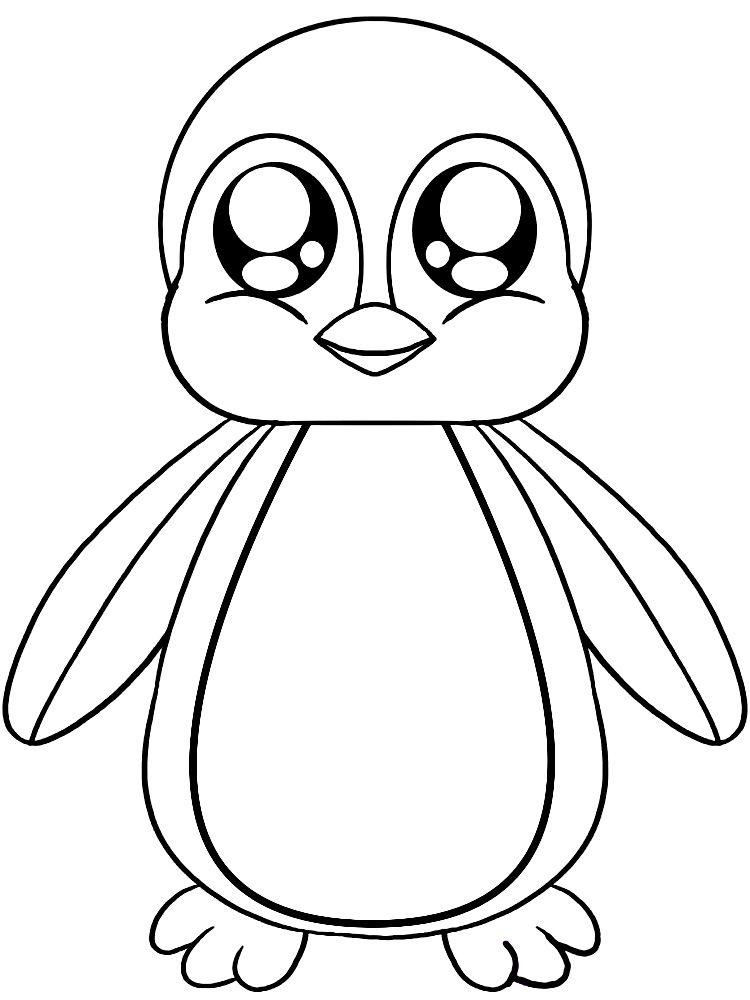 Resultado de imagen para pinguinos para colorear | animales