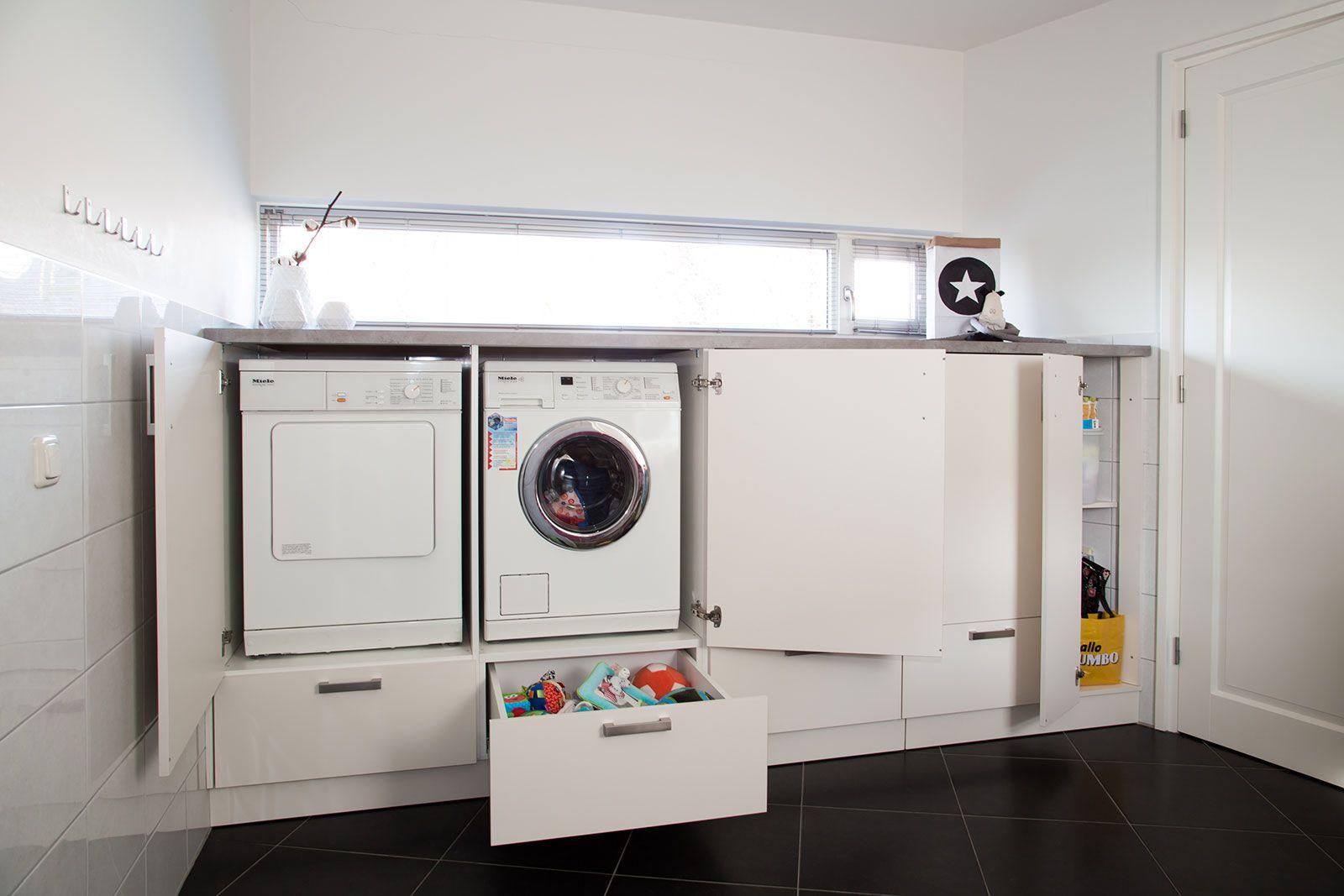 Berging inrichten google zoeken laundry room pinterest met and design - Moderne wasruimte ...