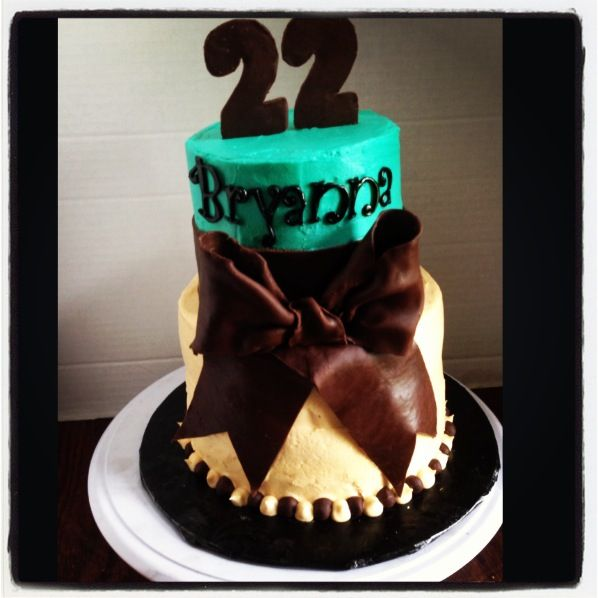 22nd Birthday Cake Designs