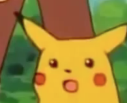 This Is A Shot That Should Be Taught In All Film Studies Classes Notice How Mr Pikachu Expresses Absolute Surprise At The Eve Pikachu Funny Pikachu New Memes