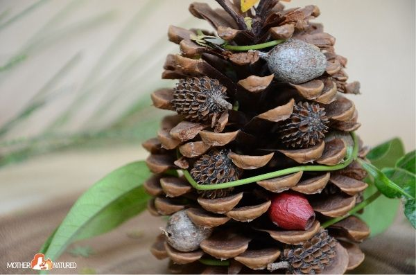 make a beautiful pinecone christmas tree in 6 easy steps pinecone nature crafts and tree crafts - Pinecone Christmas Crafts