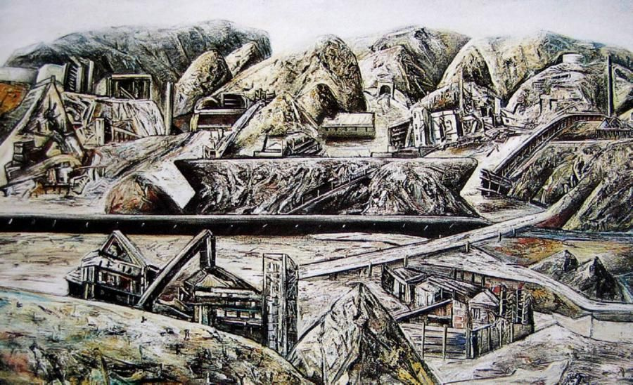 Jan Senbergs (1939- )   Penghana II, 1983