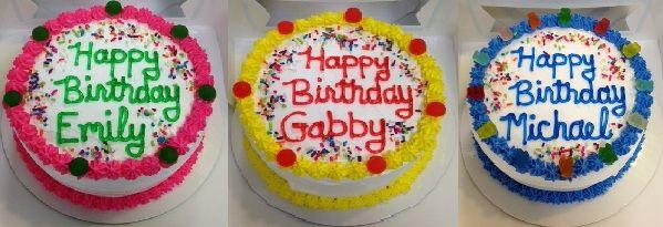 6 inch custom cakes