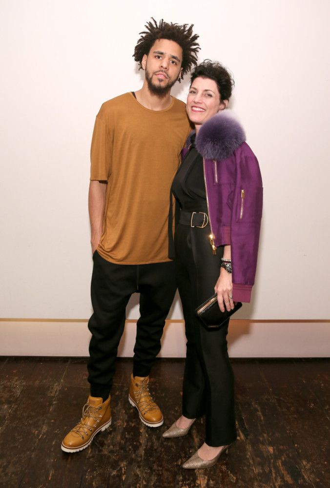 J Cole With Bally Ceo Wardrobe Outfit Ideas Fashion