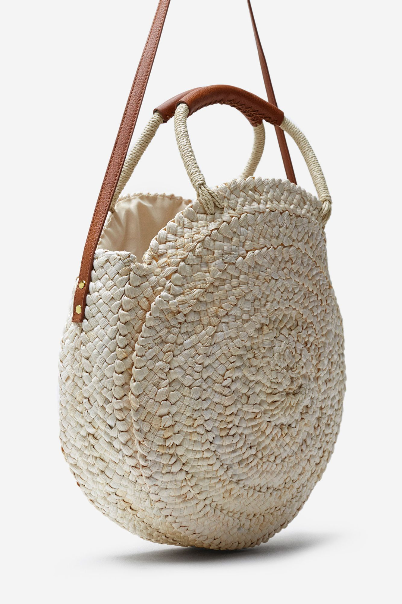 1f95aa348 SPRINGFIELD | BOLSO RAFIA REDONDO marrón | #New_In May 2018 | Linen ...