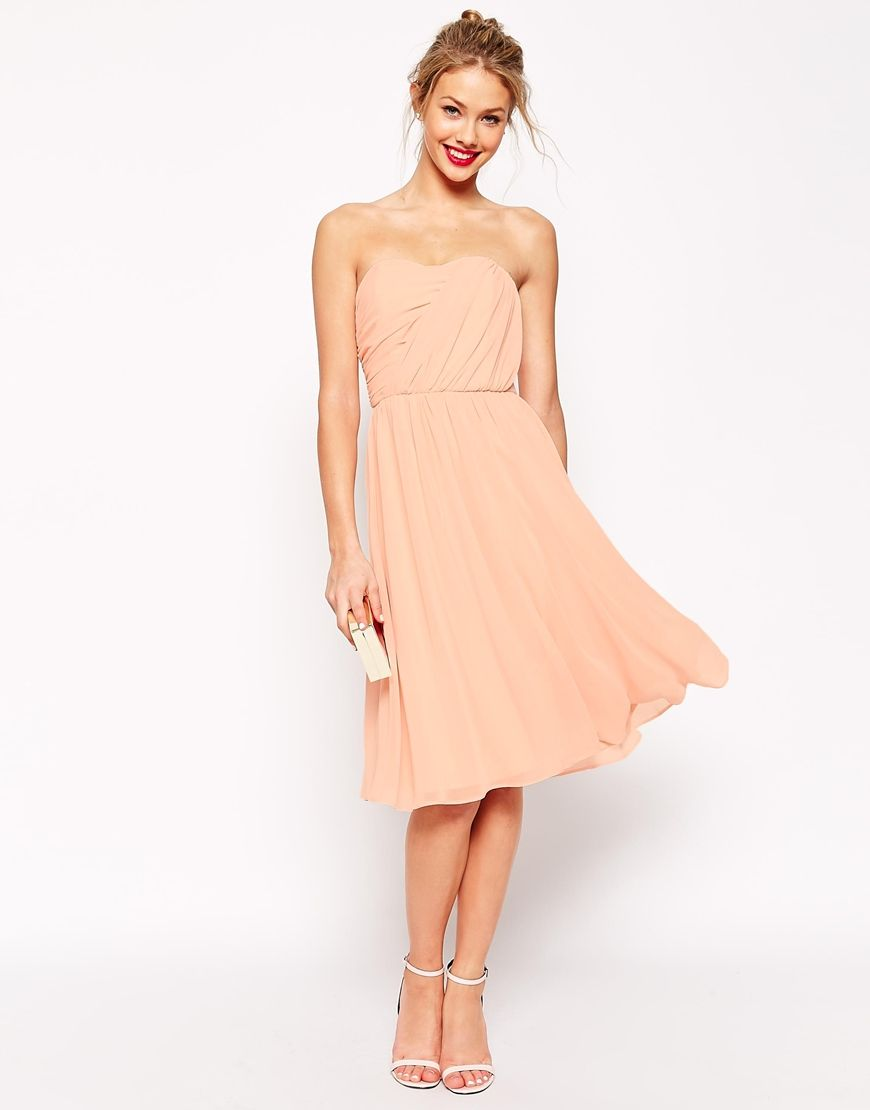 Une robe corail pour ma tenue de demoiselle d 39 honneur - Coupe demoiselle d honneur ...