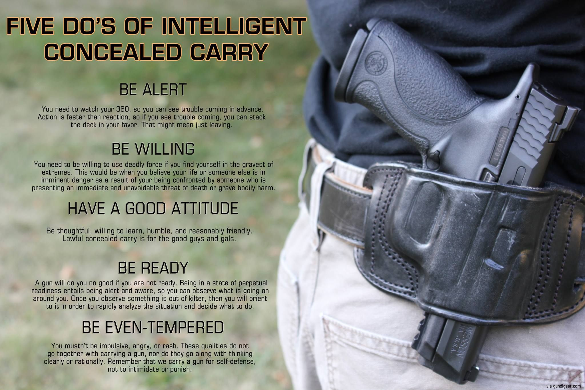 Be awarebeing aware entails being alert and willing