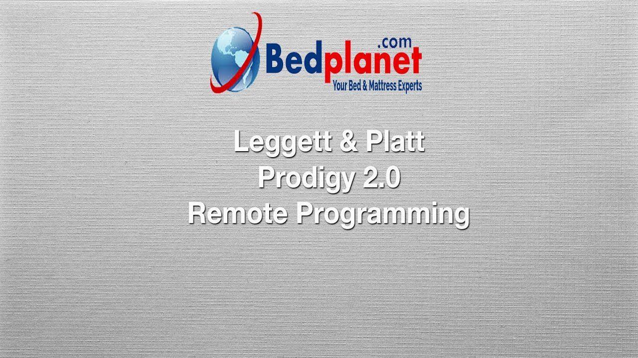 Leggett & Platt Prodigy 2.0 Remote Programming Leggett