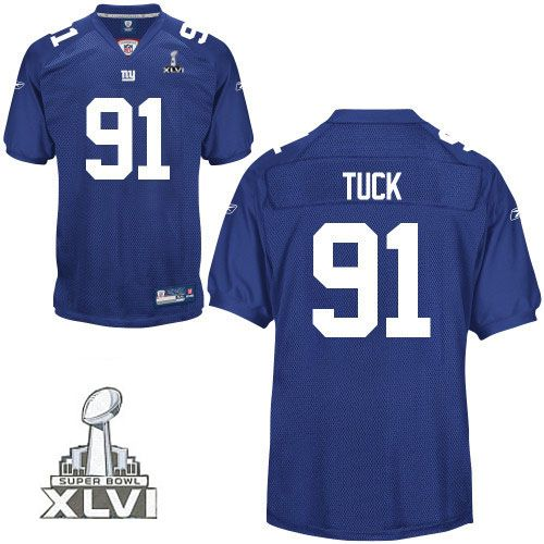 nfl jerseys · 2012 super bowl 81 blue justin tuck new york giants jersey id9244708 20 shop for offi
