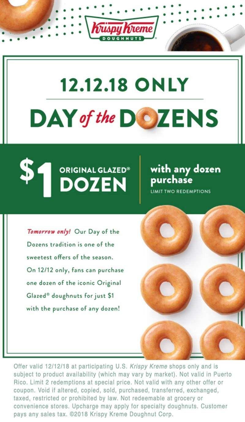 Krispy Kreme 🆓 Coupons & Shopping Deals! Krispy kreme