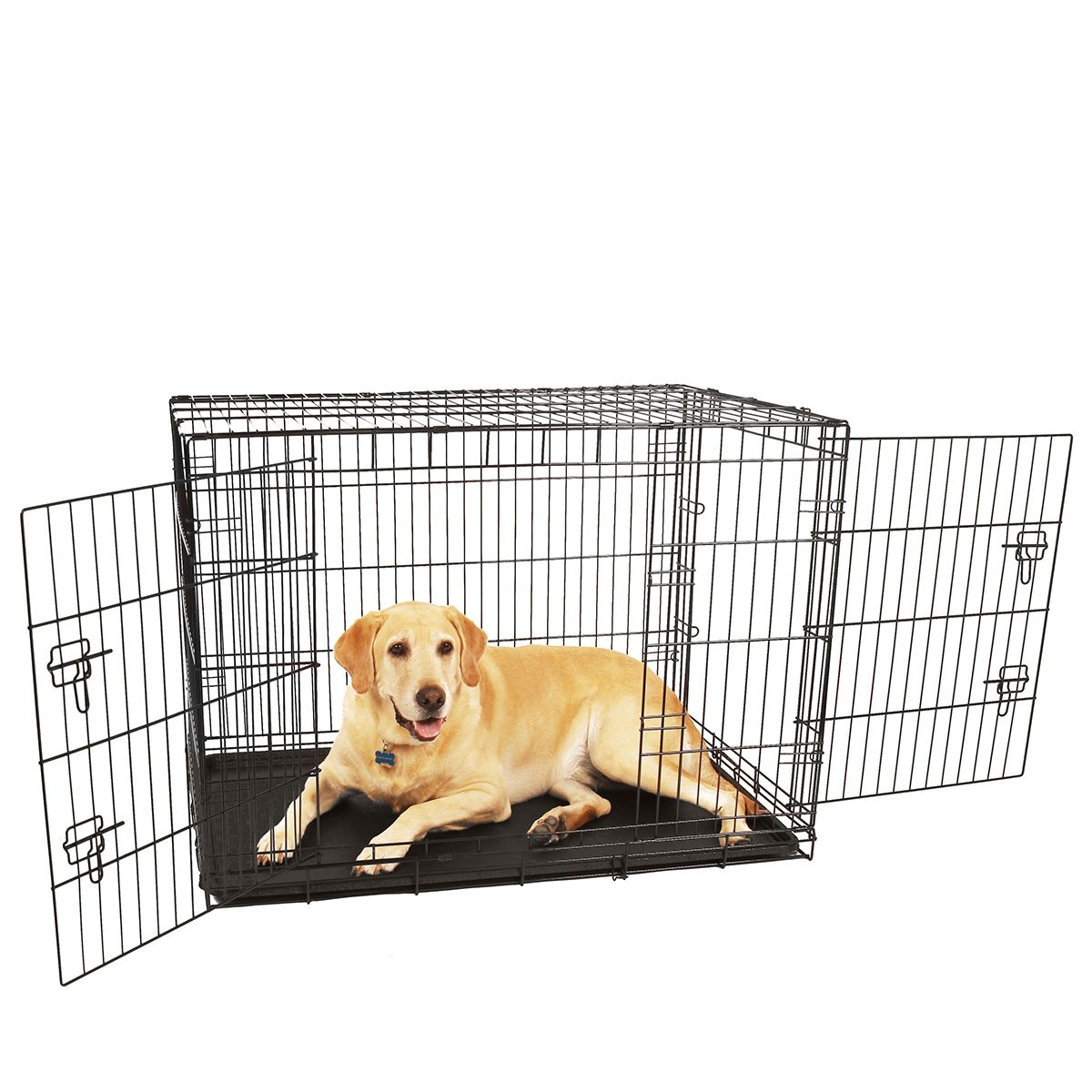 Large Double Door Dog Crate Dog Crate Dog Cages