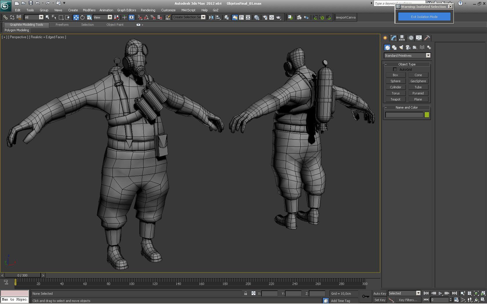 El personaje Pyro del juego Team Fortress 2 diseñado po los alumnos de nuestro Master de Videojuegos. Para ver más, clica en la imagen.