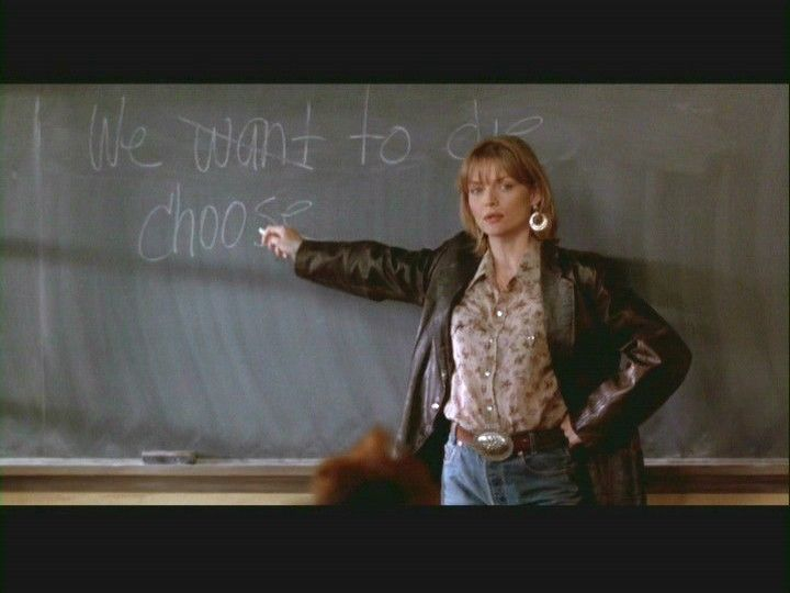 'Savior' Teacher in Dangerous Minds - blog post, 2011.