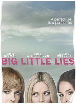 Big Little Lies Poster By Millenium1964 Big Little Lies Big Little Hbo