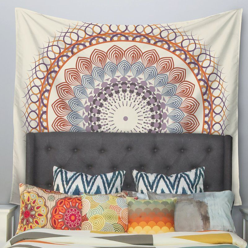 Vintage Mandala by Famenxt Wall Tapestry in 2018 Dream Bedroom