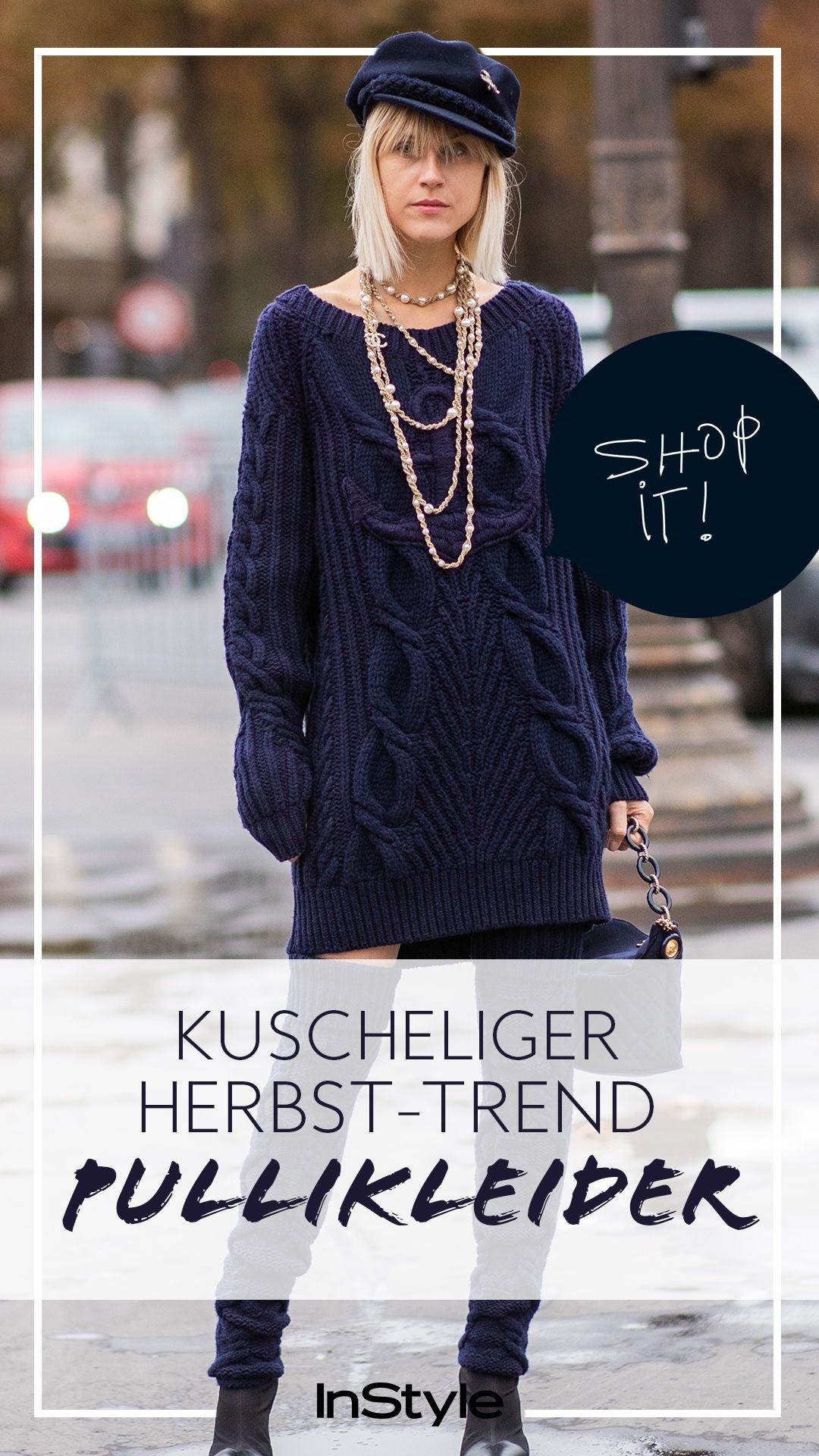 Kuscheliger Herbst-Trend: Shoppe hier die schönsten Pullikleider