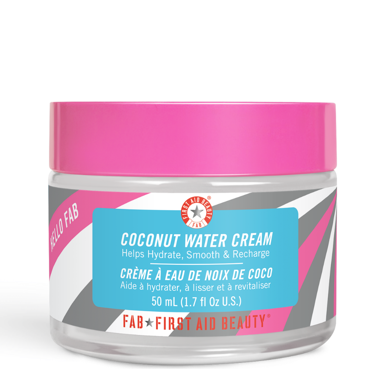 Hello Fab Coconut Water Cream In 2020 First Aid Beauty Coconut Water Oil Free Cream