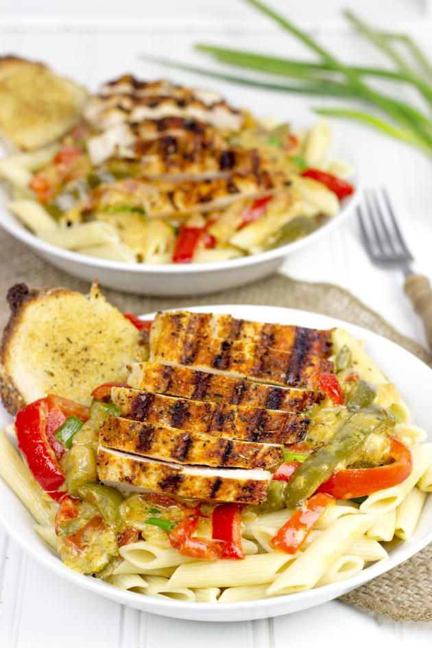 Blackened Chicken Pasta Is A Delicious Cajun Meal From Louisiana