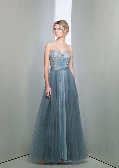 Cabaret Vintage Long Mignon Evening Gown Blue Vm1158 965 00 Http