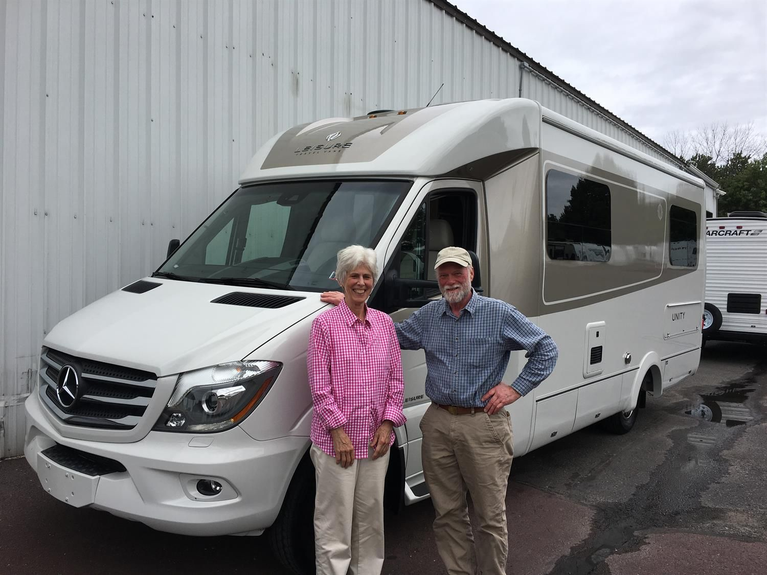 Erik And Pam We Appreciate Your Business Wishing You Many Miles Of Smiles From All Of Us Here At Fretz Rv And Rick Hand Recreational Vehicles Rv Vehicles