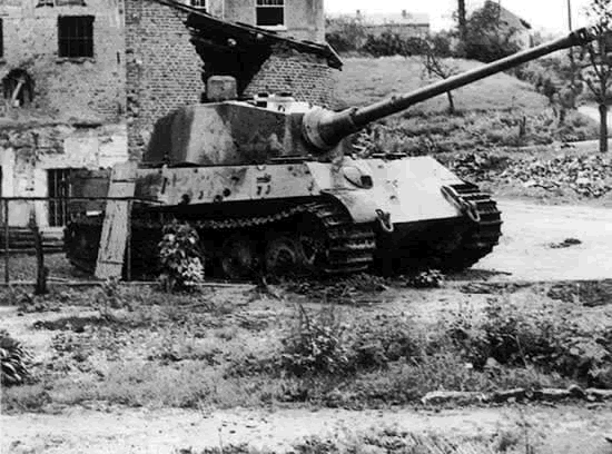 Battle Of The Bulge Tanks King Tiger That Has Been Destroyed
