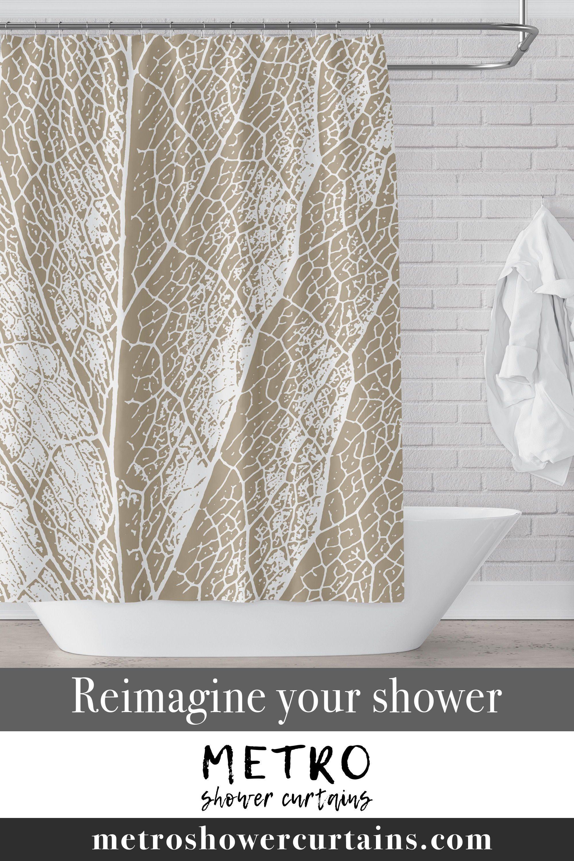 16 brown shower curtains ideas