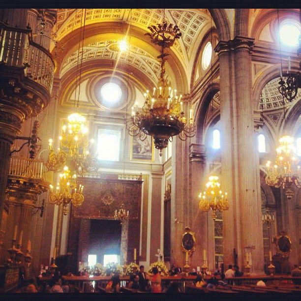 Cathedral de Puebla, Mexico...   en #statigram como @Carlos Raúl ... http://aquiespuebla.com/
