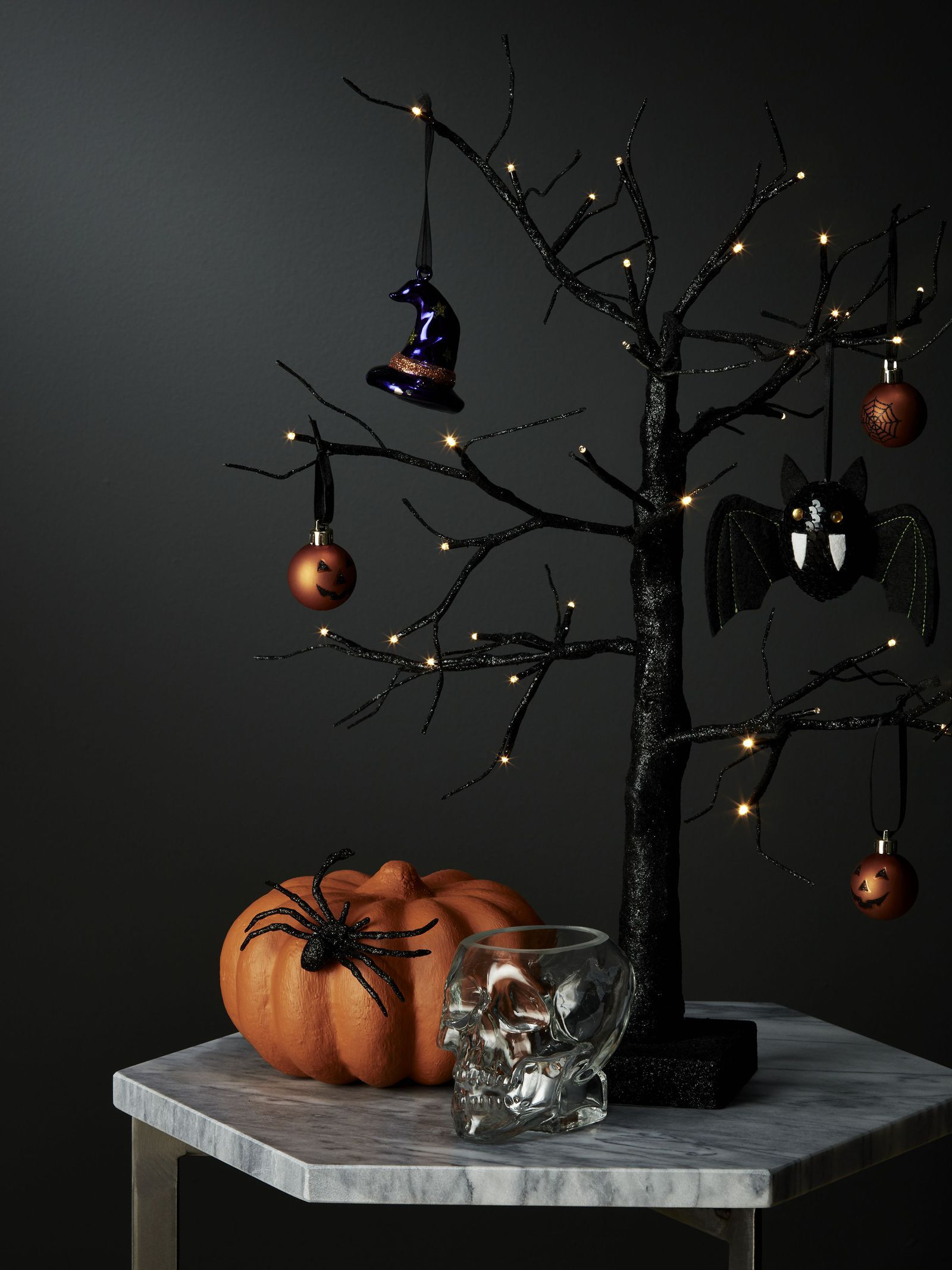 John Lewis is selling a prelit Halloween tree to help you