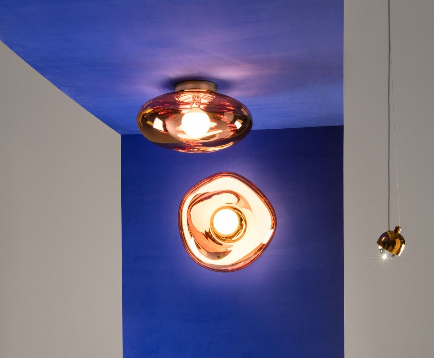 Melt Surface Light Copper Lighting Tomdixon Net Light Copper Tom Dixon Melt Wall Ceiling Lights