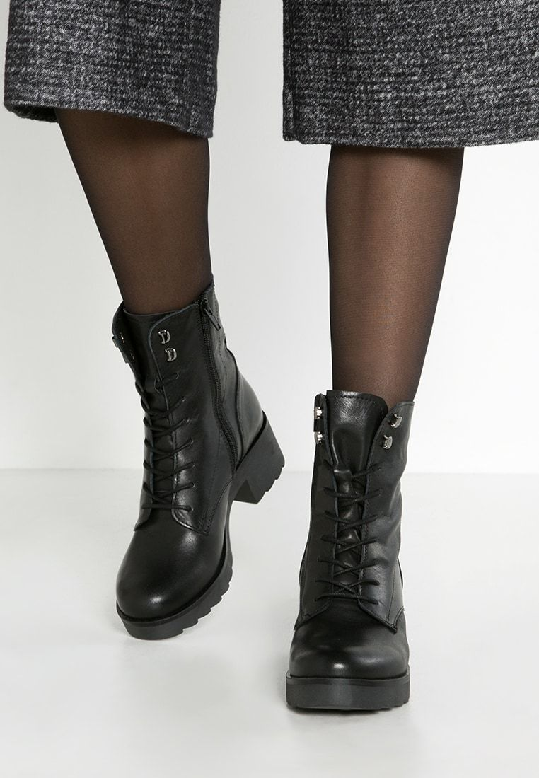 Zign Platform ankle boots black Zalando.co.uk | Bottines