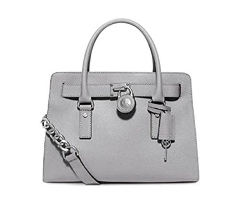 MICHAEL MICHAEL KORS Hamilton Saffiano Leather Medium Satchel ...
