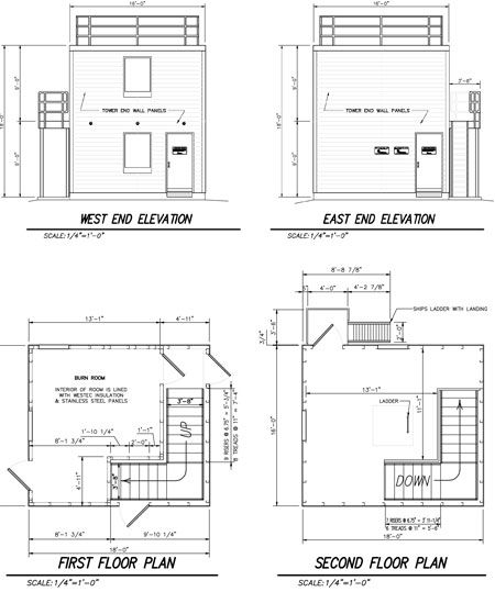 Tiny Tower Plans Tiny Tower Fire Training Floor Plans