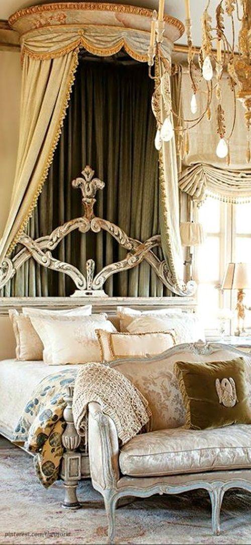 Elegant French Boudoir Themed Bedroom Style