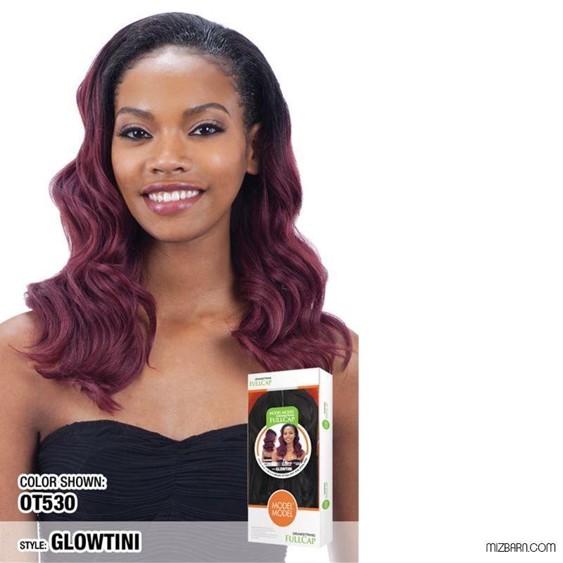 Beauty Show Flat: Model Model Drawstring Fullcap Wig GLOWTINI