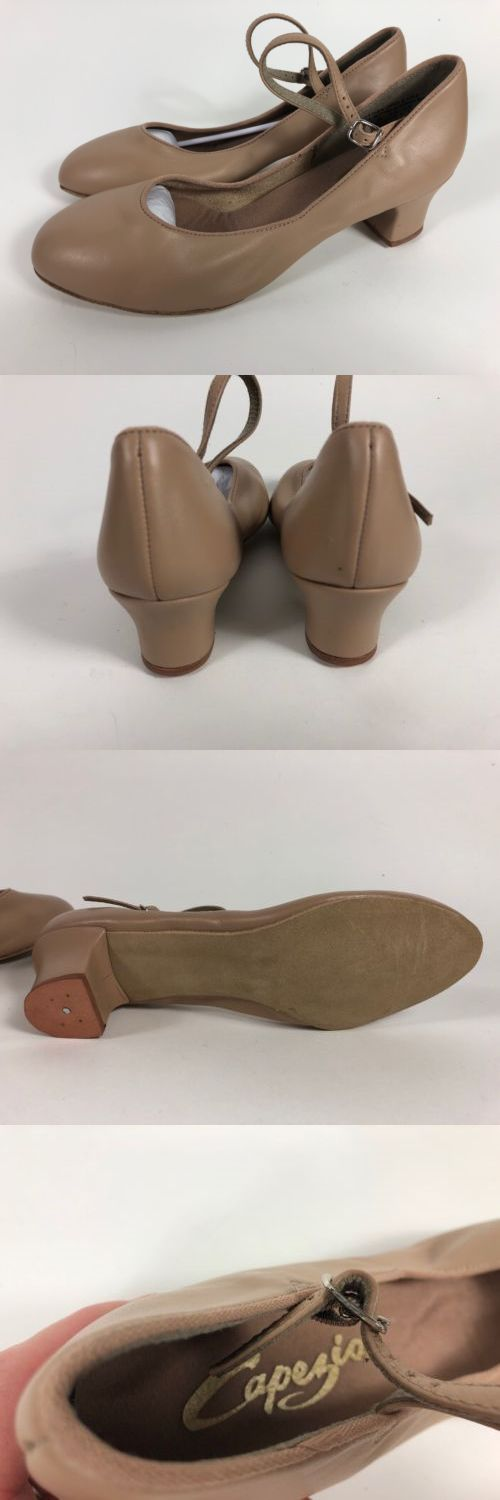 Character 152341  New Capezio 459 Car Suede Sole Women S Dance Character  Shoe Size 9 - 021c9a83ad9
