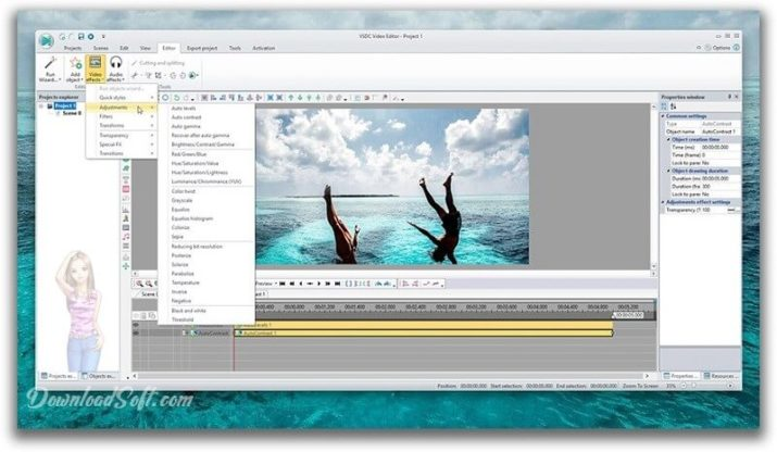VIDEO FREE EDITOR VSDC TÉLÉCHARGER