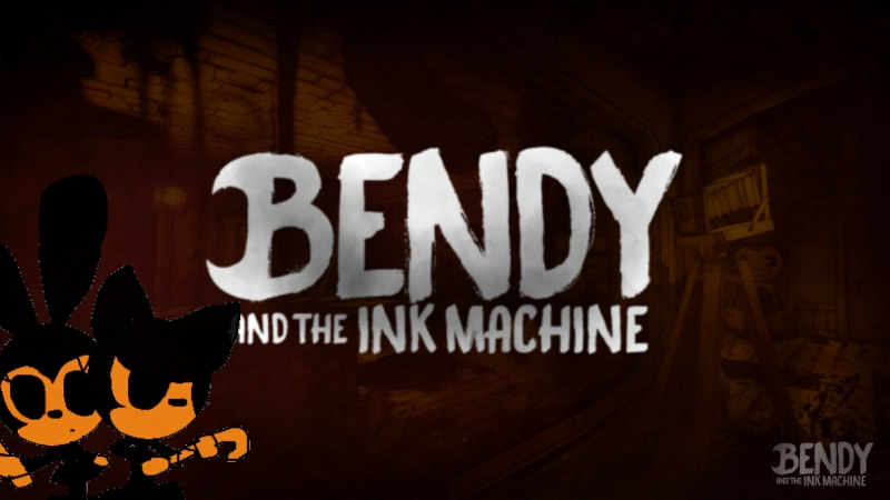 New Update Bendy And The Ink Machine 56 43 Bendy And The Ink Machine Ink Company Logo