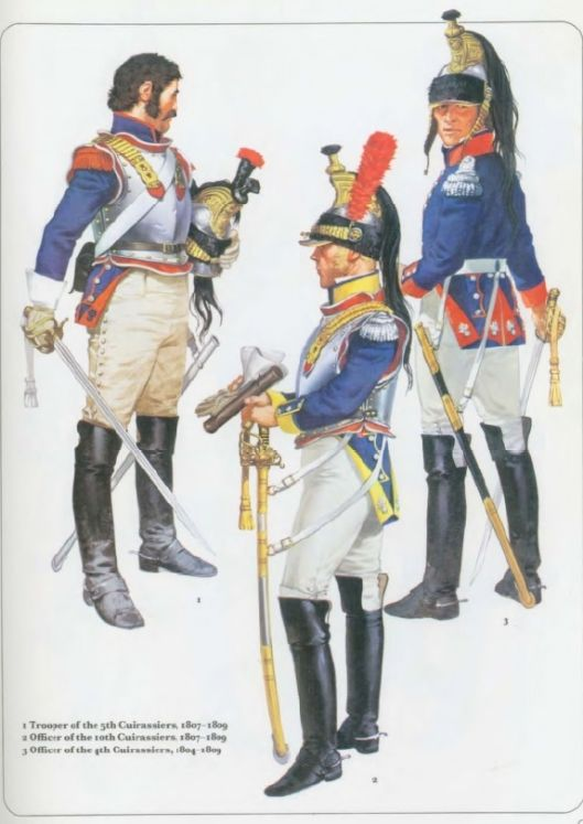 The Emperor's Cavalry ruled the Battlefields of Europe...The Cuisassiers were the Panzers of the Napoleonic Wars that terrified the enemy as they rode over them !