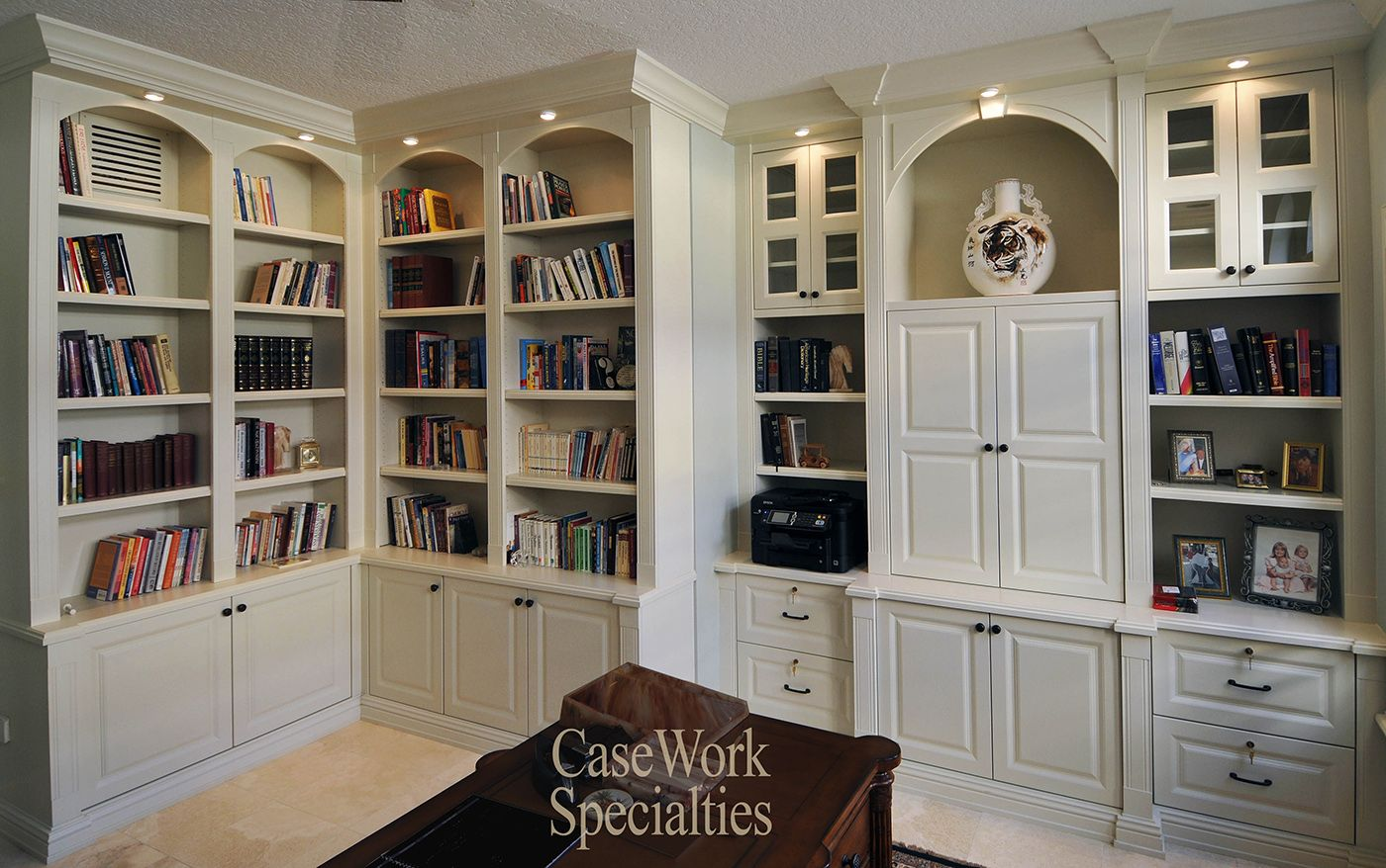 Pristine White Bookshelves Built In Bookcase Built In Wall