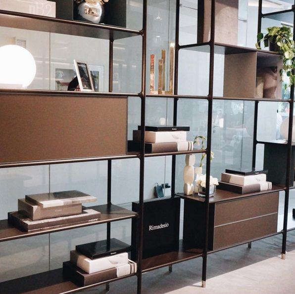 Rimadesio WIND | Design boekenkast, modulair wandmeubel | | Shelve ...