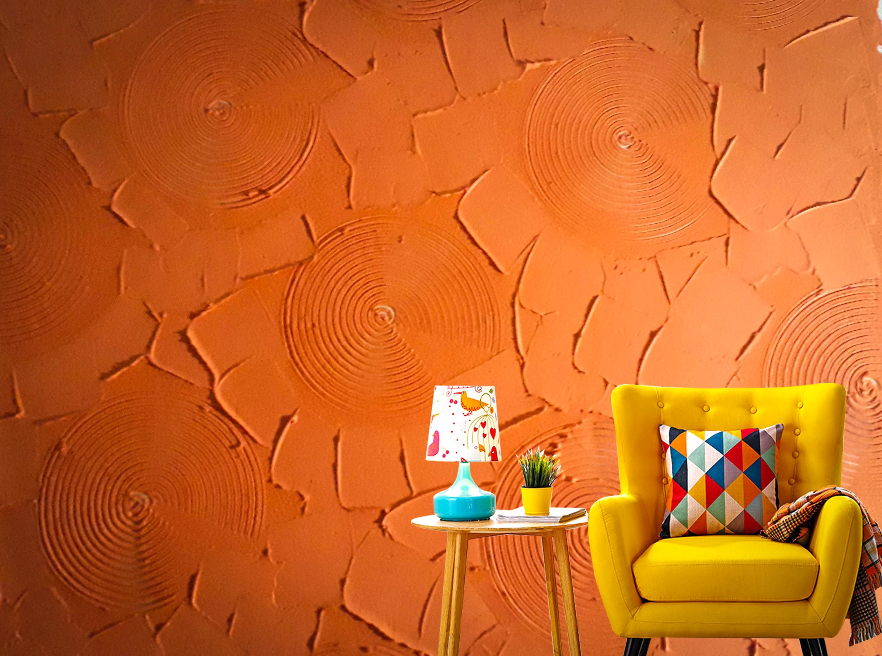Decorative Texture On Dry Wall Stencil Painting On Walls Modern Wall Stencil Stencils Wall