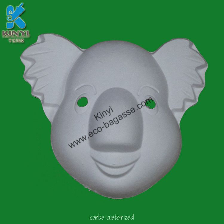 Plain Masks To Decorate Masks For Kids Unpainted Masks Paper Pulp Masks White Masks To