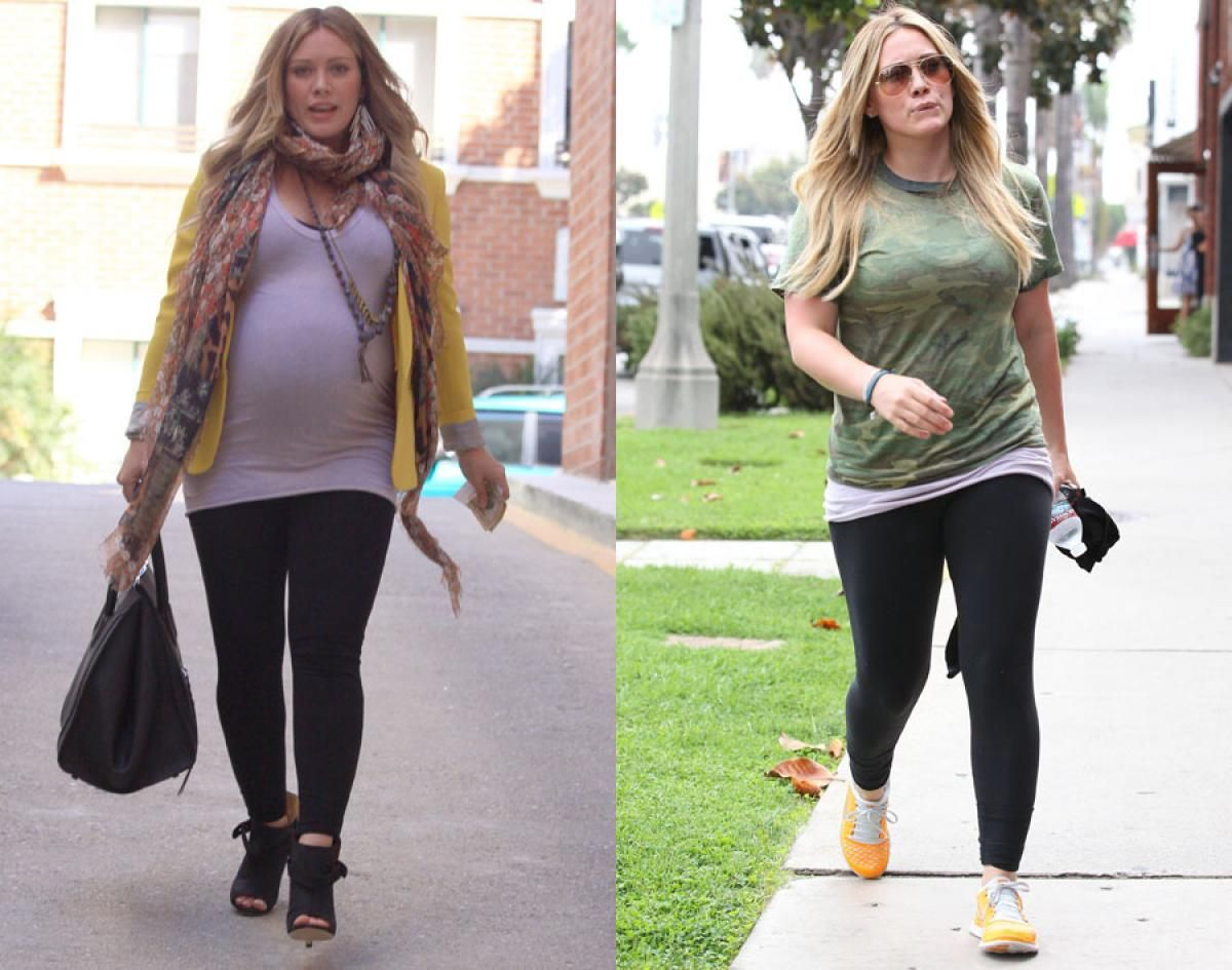 Hilary Duff Before And After Weight Loss